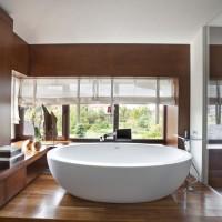 Что лучше ложить на деревянный пол в ванную