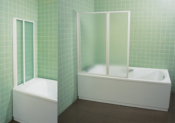 Дверцы на ванну складывающиеся