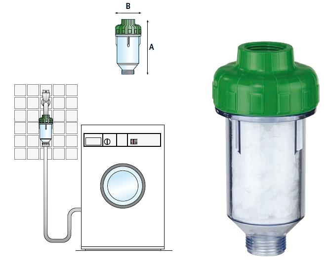 Фильтр для стиральной машинки Гейзер