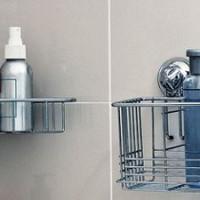 Хромированные полки для ванной комнаты, виды и рекомендации