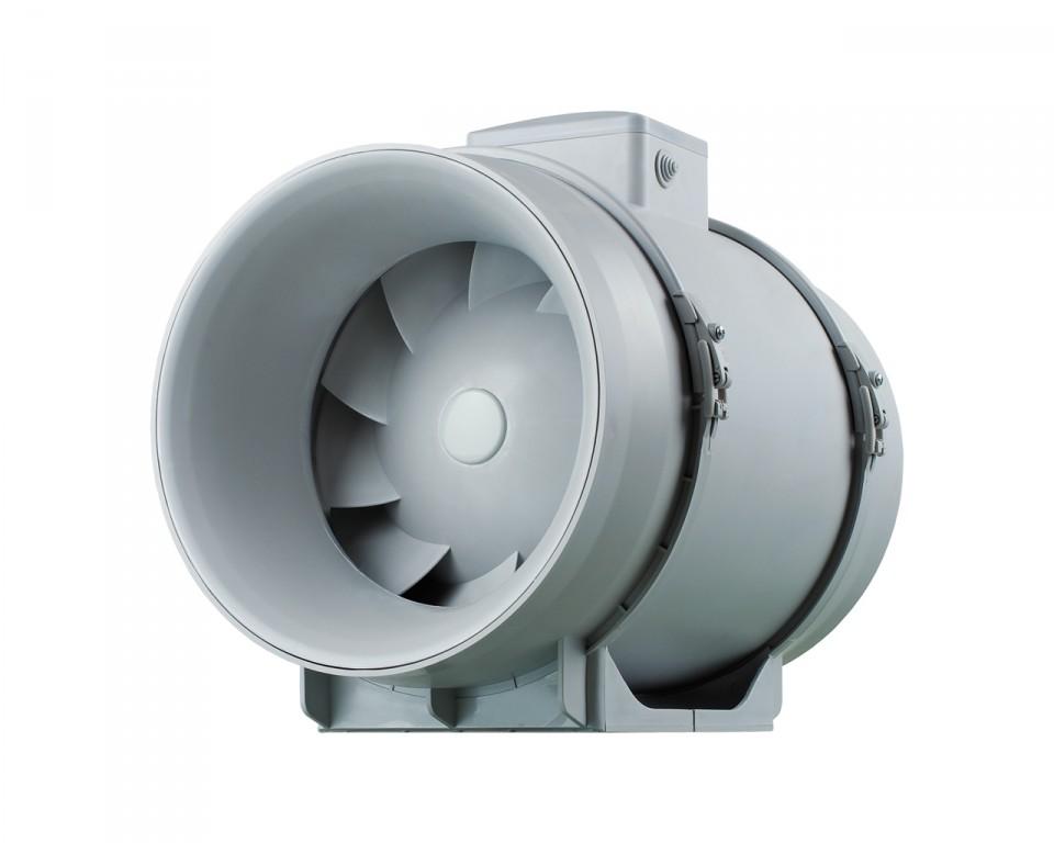 Канальный вентилятор смешанного тип