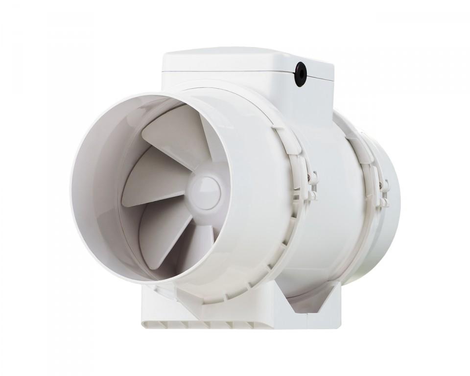 Канальный вентилятор смешанного типа
