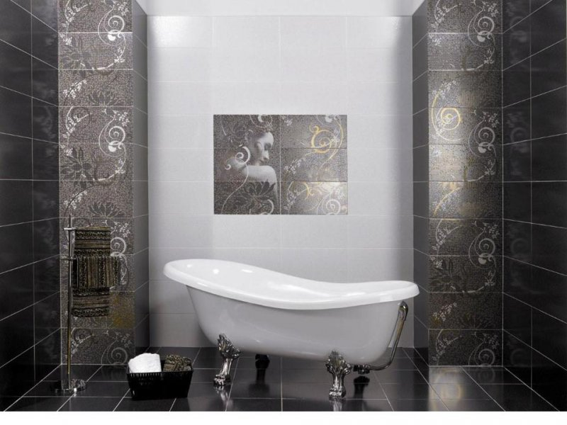 Керамическая плитка для стены с рисунком