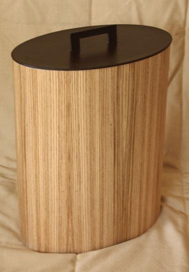 Корзина для белья деревянная