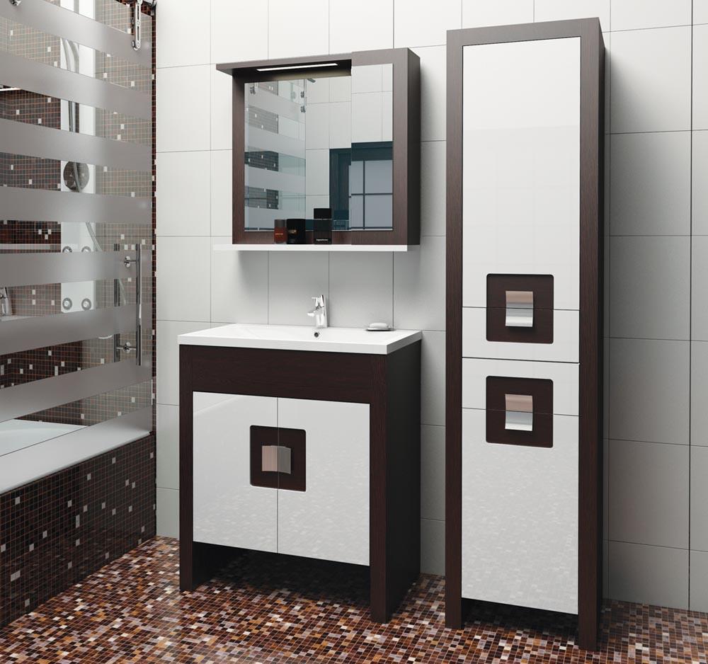 Красивый и стильный шкаф пенал