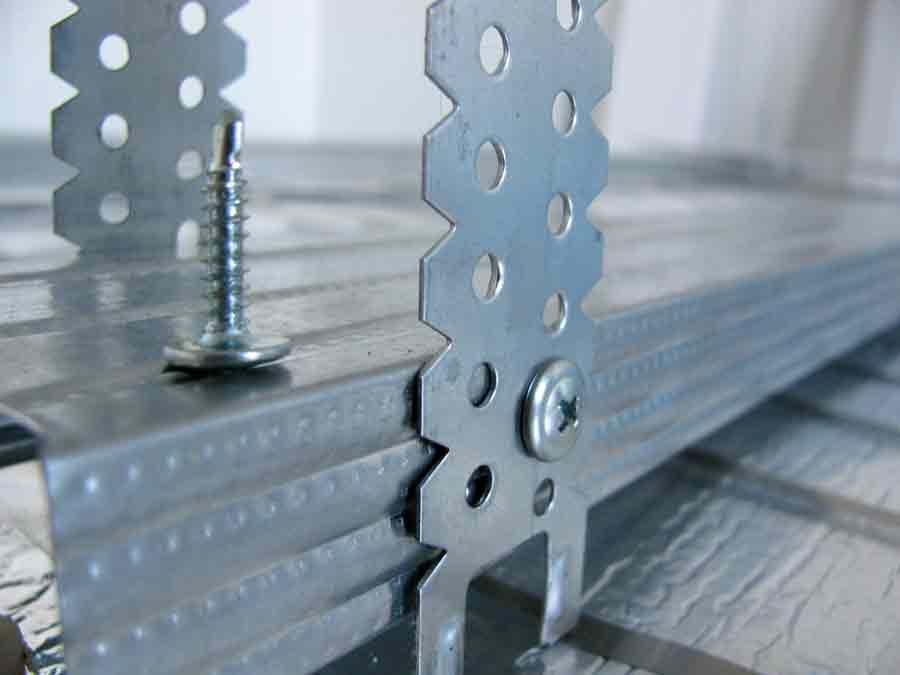 Как крепятся детали каркаса из металла
