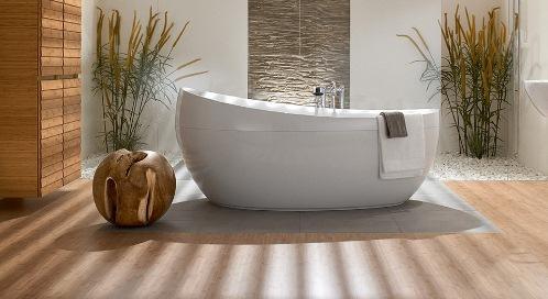 Квариловые асимметричные ванные
