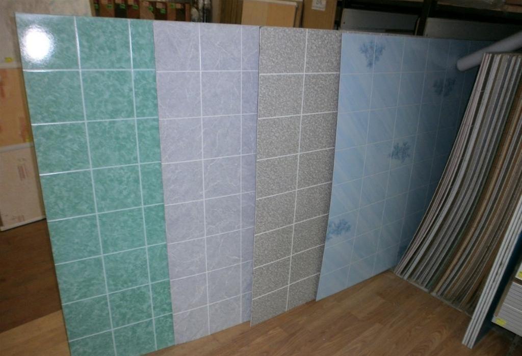 Листовые панели для ванной