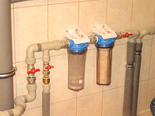 Магистральный фильтр для стиральной машинки