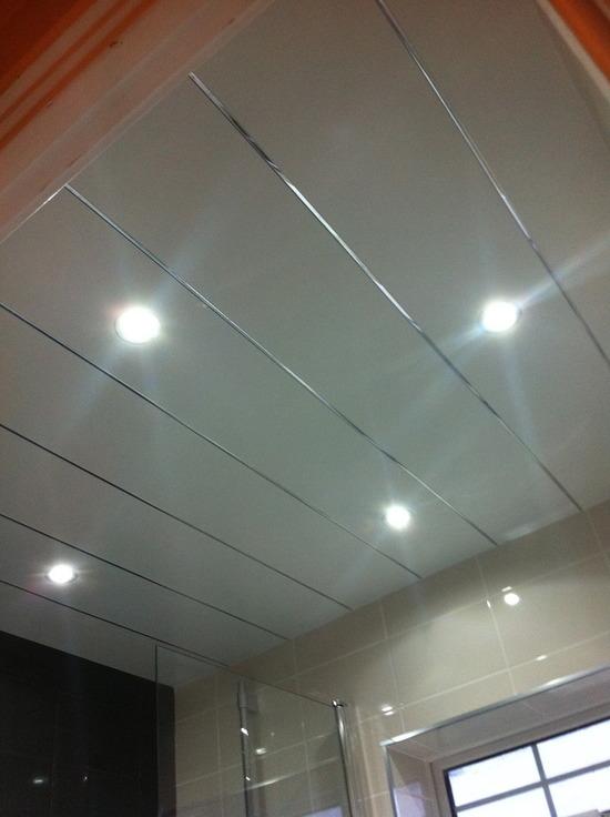 Готовый потолок из пластиковых панелей