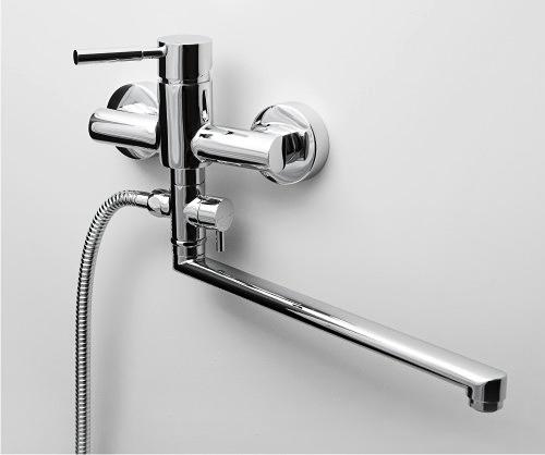 Однорычажный смеситель для ванны