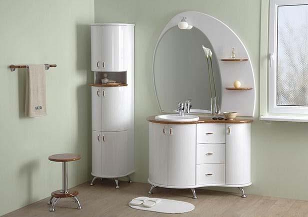Оригинальная мебель для ванной комнаты