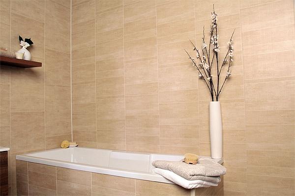 Отделка стен ванной панелями пластиковыми