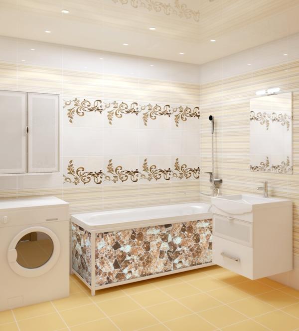Отделка ванной пластиковые панели