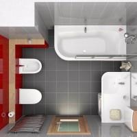 Какой размер по стандартам в ванной комнате