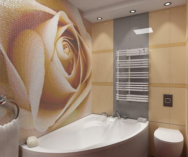 Плитка для ванной мозаика из стекла
