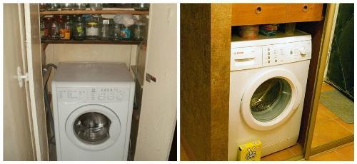 Подготовка места под стиральную машину