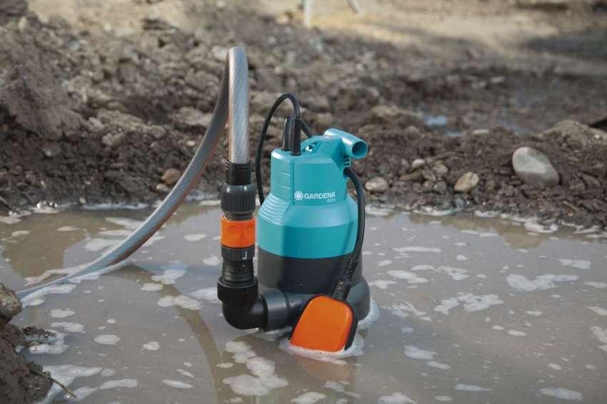 Полупогружной насос для канализации