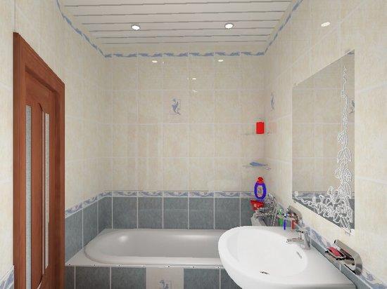 Потолок из ПВХ в дизайне интерьера