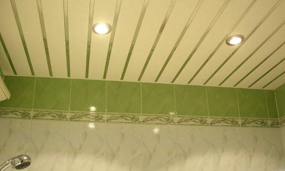 Реечные панели для ванной