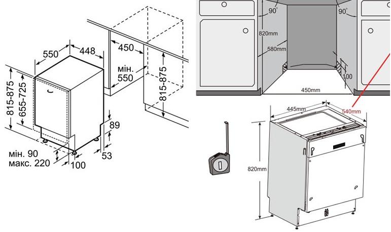 Посудомоечная машина bosch инструкция по монтажу