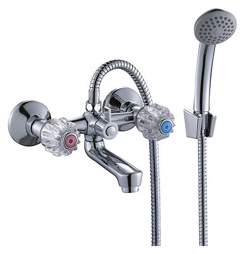 Смеситель для ванны с простым душем