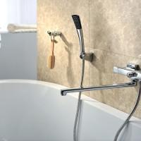 Смесители для ванны с душем, какой вид лучше выбрать
