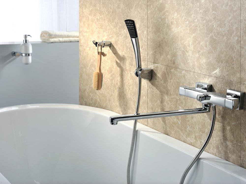 Смеситель для ванной с душем в различном исполнении