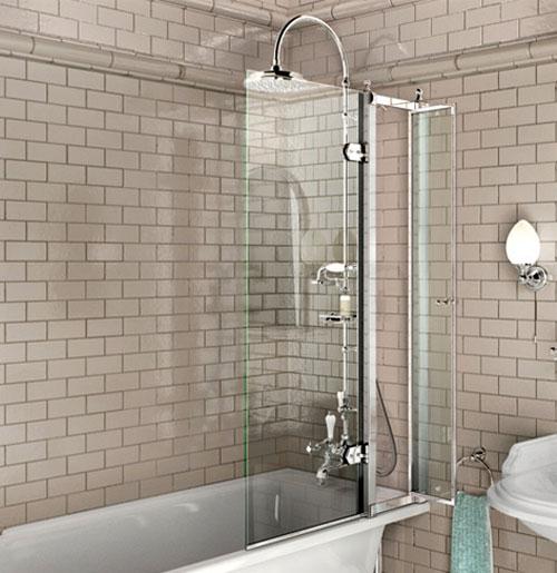 Стеклянная шторка для ванной своими руками 243