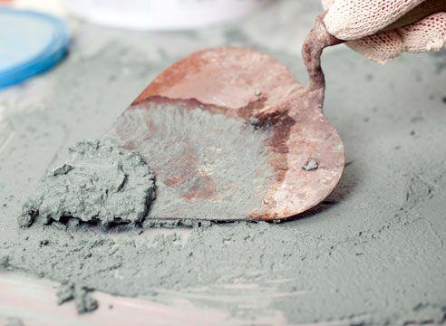 Цементно-песчаный вид штукатурки