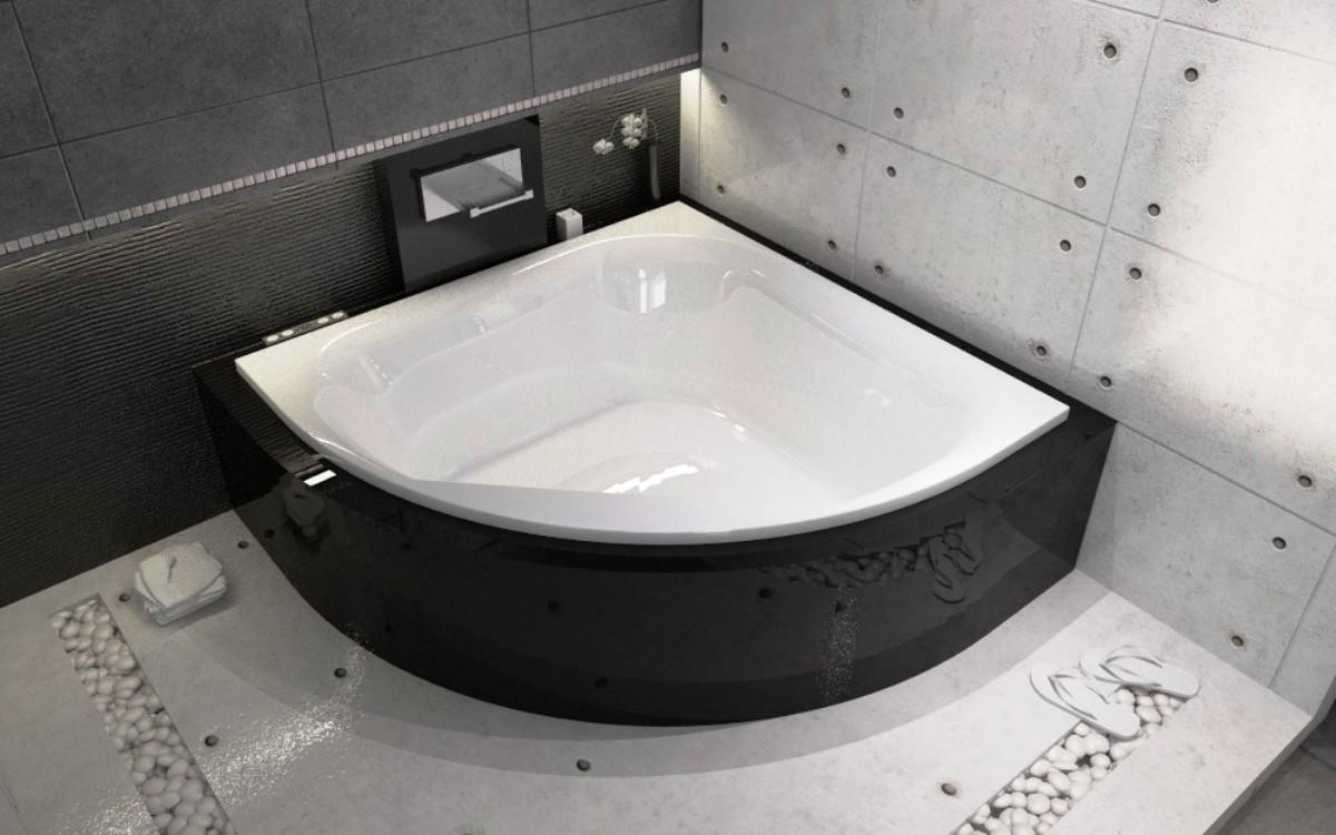 Угловая и большая ванная