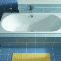 Как установить ванную после укладки плитки