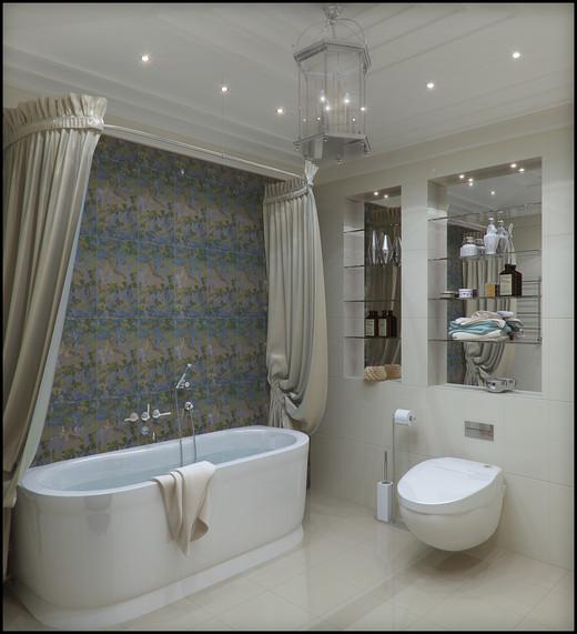 Ванная красивой формы