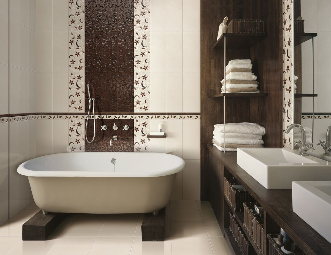 Дизайн в ванной комнте