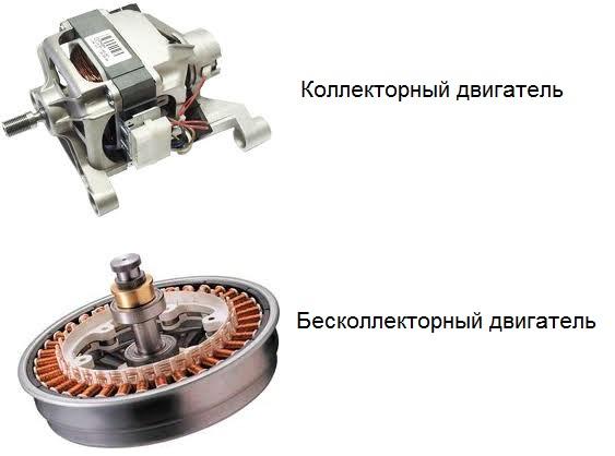 Виды двигателей стиральной машины
