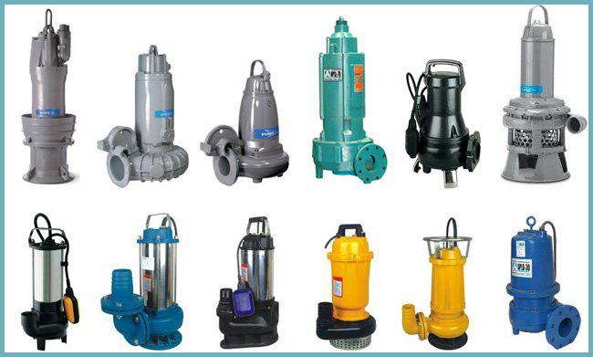 Разновидности канализационных насосов