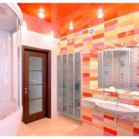 Плюсы и минусы натяжных потолков в ванной, виды и какой выбрать