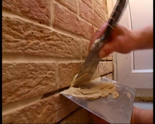 Работа с цементной затиркой