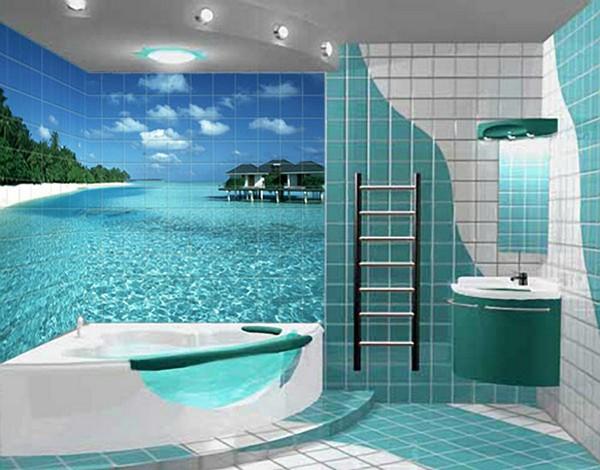Фотоплитка в ванную
