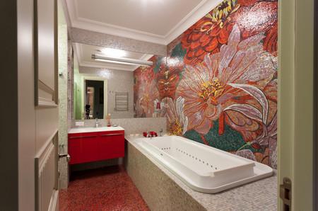 Идеальная стена в ванной