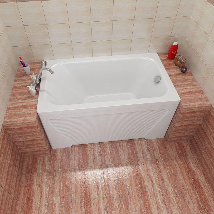 Линолеум темного цвета в ванной комнате
