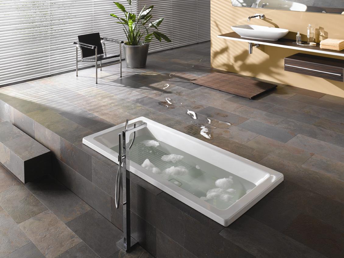 Модный кафель для ванной на стену