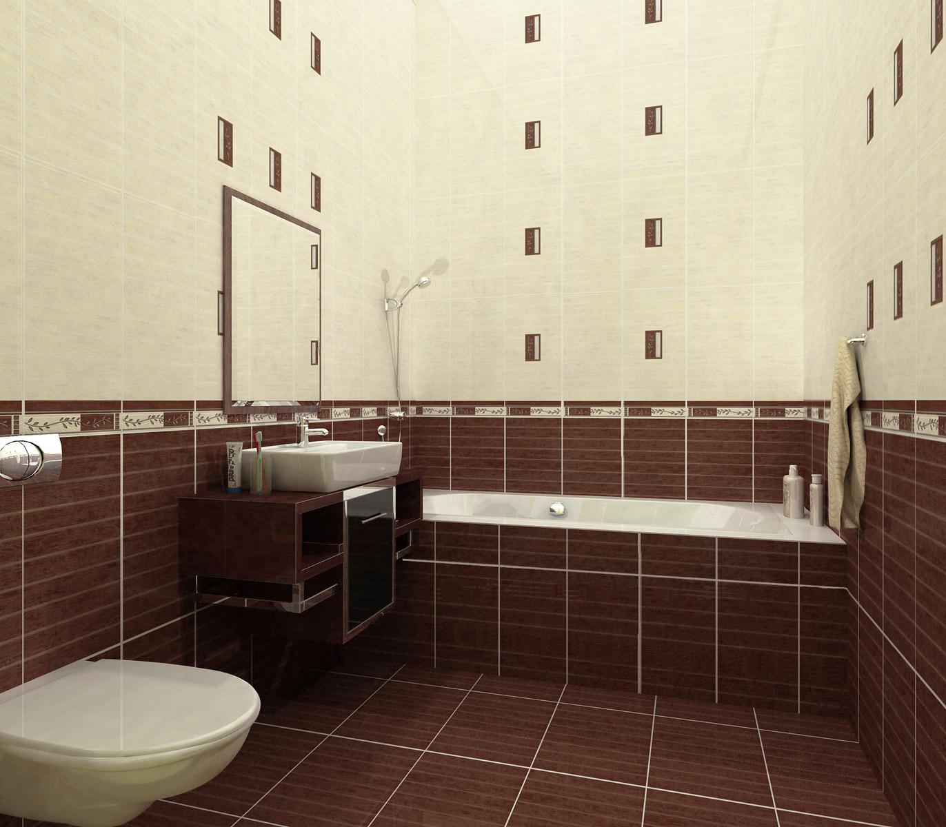 Образцы кафельной плитки для стены в ванную