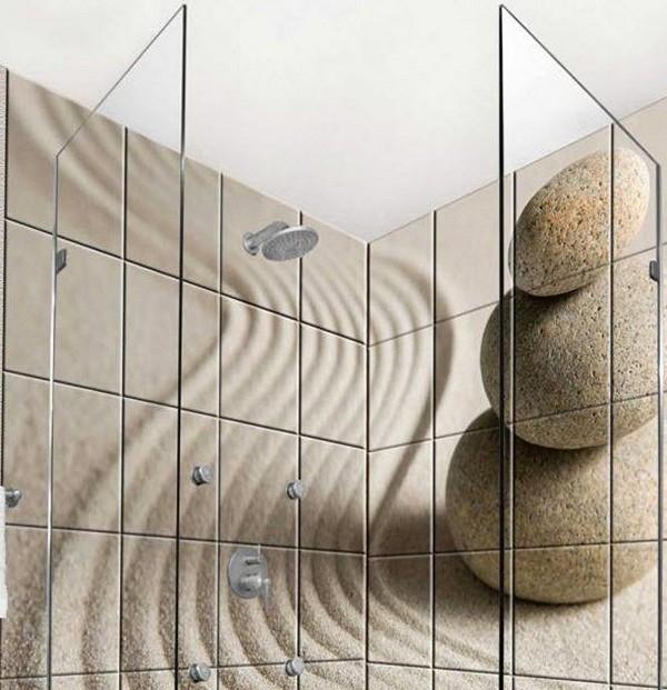 Панно с изображение камней
