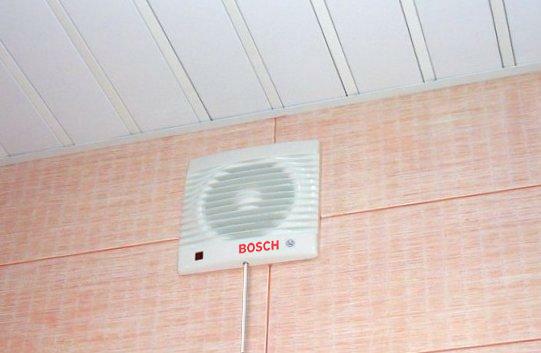 Вентиляторы вытяжные для ванной