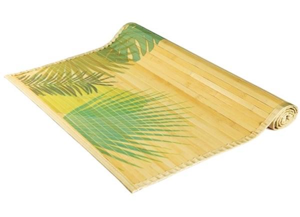 Бамбуковая циновка на пол в ванную