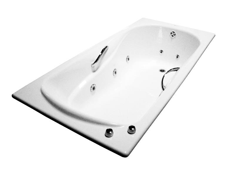 Гидромассажная ванна из чугуна