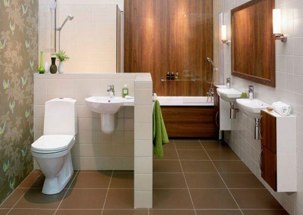 Перегородка в ванной комнате, как выбирается, существующие виды