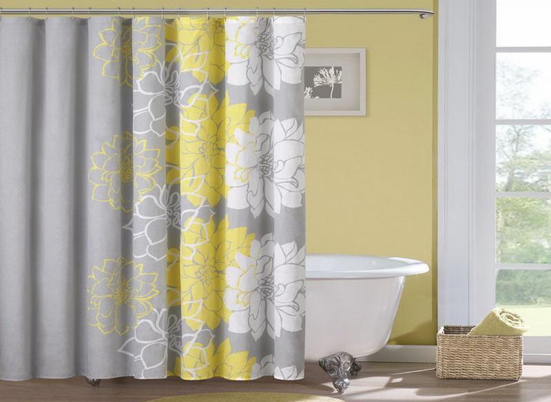 Как выбрать шторку для ванной из ткани