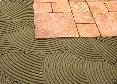 Клей на цементной основе для плитки